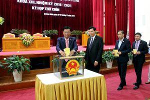 Chủ tịch HĐND tỉnh Quảng Ninh Nguyễn Văn Đọc có số phiếu tín nhiệm cao nhiều nhất