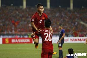 Quang Hải, Công Phượng ghi bàn, tuyển Việt Nam vào chung kết AFF Cup sau 10 năm chờ đợi