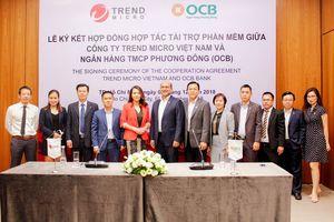OCB bắt tay Trend Micro cung cấp 50.000 tài khoản bảo mật thiết bị cho khách hàng