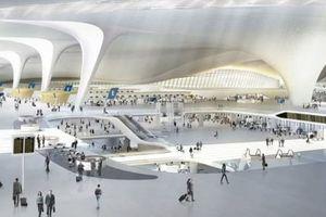 'Siêu sân bay' mới tại Bắc Kinh hút sự chú ý từ CNN