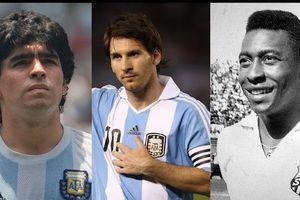 Pele: 'Messi chỉ chơi một chân, không biết đánh đầu, thua xa Maradona'