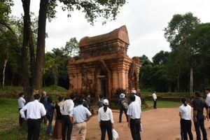 Hợp tác hiệu quả từ việc 'trùng tu khảo cổ học' phế tích đền tháp Chăm tại Mỹ Sơn