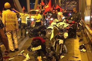 Hàng loạt vụ tai nạn trong đêm chiến thắng của ĐT Việt Nam