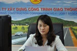 Vợ phó chủ tịch Nghệ An 'bỏ' ghế sếp lớn, Cienco4 lên sàn Upcom