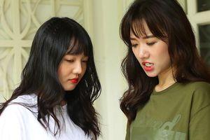 Em gái xinh đẹp của Hari Won lần đầu đóng phim khiến chị vất vả