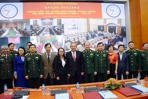 Cơ sở vững chắc xây dựng tuyến biên giới quốc gia hòa bình, phát triển
