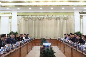 Chủ tịch UBND TPHCM làm việc với đoàn Bộ Thương mại Hoa Kỳ