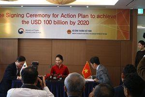 Việt Nam và Hàn Quốc đặt mục tiêu kim ngạch 2 chiều 100 tỷ USD