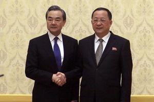Ngoại trưởng Trung - Triều thảo luận phi hạt nhân hóa