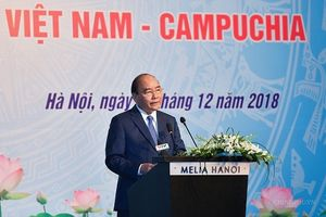 Thủ tướng Nguyễn Xuân Phúc dự Diễn đàn doanh nghiệp Việt Nam - Campuchia