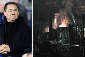 Trực thăng chở ông chủ người Thái của CLB Leicester rơi do sự cố kỹ thuật
