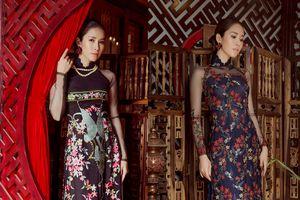 Hoa hậu Phan Thu Quyên tái xuất trong áo dài lấy cảm hứng từ 'Truyện Kiều'