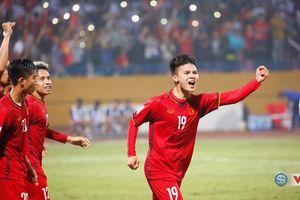 Quang Hải đạt điểm cao nhất trận thắng trước Philippines