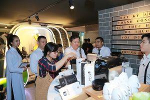 Tập đoàn Trung Nguyên Legend ra mắt Viên nén cà phê rang xay