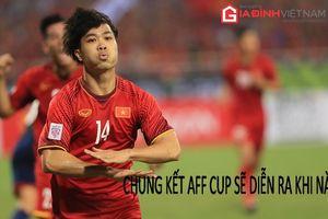 Chung kết AFF Cup 2018 diễn ra ngày nào, ở đâu?