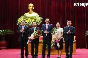 Bầu bổ sung lãnh đạo 4 tỉnh thành phố