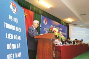 Đại hội Liên đoàn bóng đá Việt Nam khóa VIII: Liệu đã hết 'nóng'?