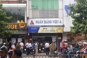 Xác định nghi phạm thực hiện vụ cướp ngân hàng Việt Á ở TP HCM