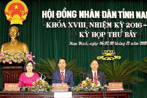 Nam Định lấy phiếu tín nhiệm các cán bộ do HĐND tỉnh bầu
