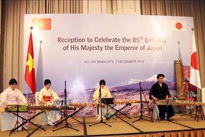 Kỷ niệm sinh nhật lần thứ 85 của Nhật Hoàng Akihito tại TP Hồ Chí Minh