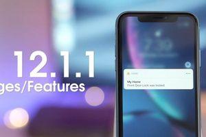 Cập nhật iOS 12.1.1 đã cho phép tải về, chụp Live Photo trong FaceTime, cải thiện Haptic Touch