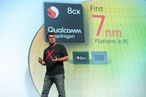Máy tính mỏng nhẹ như điện thoại dùng vi xử lý Qualcomm sẽ có từ Quý 3/2019