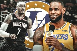 Tin đồn: LeBron James muốn Lakers mang về Carmelo Anthony