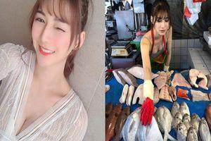 Cô nàng bán cá 'nỏng bỏng nhất' Đài Loan khiến dân tình 'phát sốt'