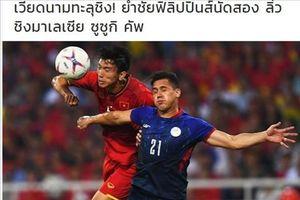 Báo Thái kinh ngạc trước lối chơi biến hóa của Việt Nam tại AFF Cup