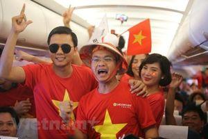 Vietnam Airlines tăng cường chuyến bay đi Malaysia phục vụ người hâm mộ