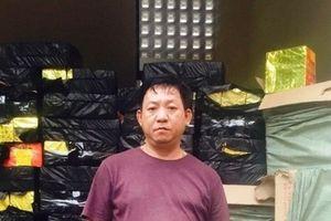 Nghệ An: Bắt giữ container vận chuyển gần nửa tấn pháo đi tiêu thụ