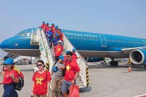 Tăng cường chuyến bay đến Kuala Lumpur đưa cổ động viên dự chung kết AFF Cup 2018