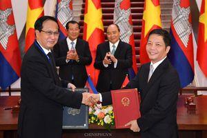 Kết thúc đàm phán Hiệp định Thương mại biên giới Việt Nam – Campuchia