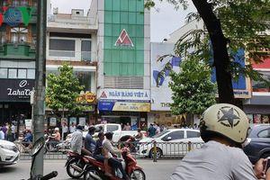 TPHCM: Công an tung quân truy tìm đối tượng bịt mặt cướp ngân hàng