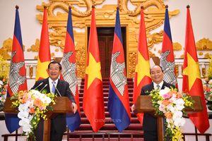 Quan hệ Việt Nam-Campuchia phát triển toàn diện trên mọi lĩnh vực