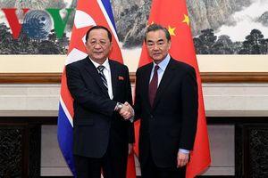 Ngoại trưởng Trung Quốc và Triều Tiên hội đàm về nhiều vấn đề lớn