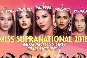 Trực tiếp chung kết Hoa hậu Siêu quốc gia 2018: Liên tục bị chơi xấu, Minh Tú có đăng quang?
