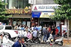 Ngân hàng Việt Á thông tin về vụ cướp tại phòng giao dịch ở TP Hồ Chí Minh
