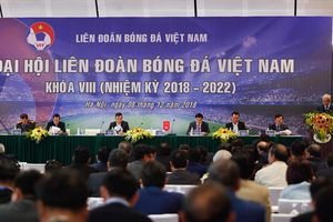 Đại hội VFF khóa VIII 'nóng' cuộc đua ghế Phó chủ tịch