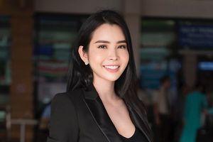 Hoa hậu Huỳnh Vy hào hứng tham gia show thời trang tại Đà Lạt