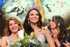 Ngắm nhan sắc quyến rũ gây tranh cãi của Tân Hoa hậu Siêu quốc gia