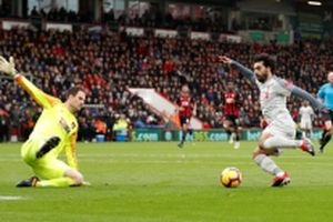 Thắng dễ Bournemouth 4-0, Liverpool tạm lấy ngôi đầu