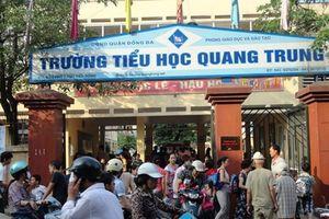 Sở GD&ĐT Hà Nội báo cáo chi tiết vụ HS bị tát tại Trường TH Quang Trung