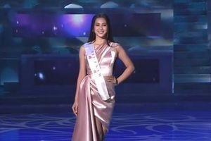 Những hình ảnh đầu tiên của hoa hậu Tiểu Vy trong đêm chung kết Miss World 2018