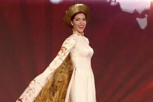 Thể hiện xuất sắc, Minh Tú lọt top 10 Hoa hậu Siêu quốc gia