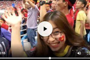 Hotgirl Nhật Lê 'quẩy' trên sân, Quang Hải nói gì về bạn gái?