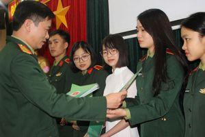 17 đại biểu Quân đội dự Đại hội sinh viên toàn quốc lần thứ X