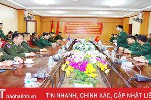 Đoàn cán bộ, học viên cao cấp Campuchia tham quan, nghiên cứu thực tế tại BĐBP Hà Tĩnh