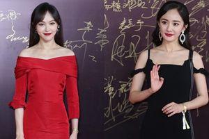 'Cặp bạn thân trở mặt thành thù' Đường Yên và Dương Mịch đẹp bất phân thắng bại trên thảm đỏ Hoa Biểu lần thứ 17
