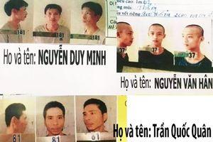 Toàn bộ 3 phạm nhân nguy hiểm trốn khỏi trại giam đã bị bắt giữ